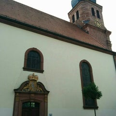 Photo taken at Lutherkirche by Cordula B. on 8/4/2015