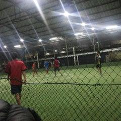 Photo taken at Cimahpar Futsal by Abigail G. on 7/14/2014