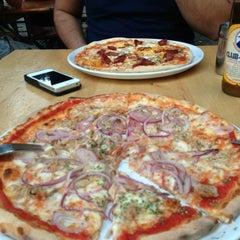 Photo taken at Toros Pizza by Monica Z. on 8/2/2013