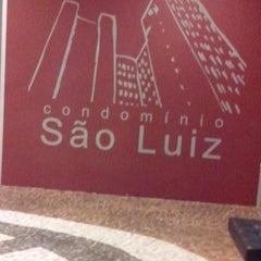 Photo taken at Condomínio São Luiz by Rodrigo R. on 8/16/2013