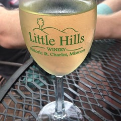 Photo taken at Little Hills Winery by Brittany C. on 8/9/2014