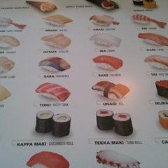 Photo taken at Tokyo Sushi by Christoph R. on 11/19/2012