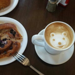 Photo taken at French Riviera Bakery & Cafe by Didem D. on 8/1/2015