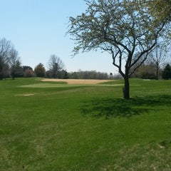 Photo taken at Spencer T. Olin Golf Course by Joey P. on 4/19/2014