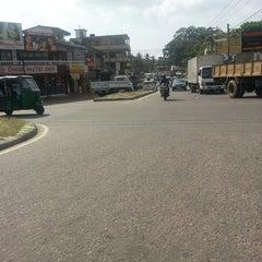 Photo taken at Pepiliyana Junction by Muxain N. on 12/18/2013