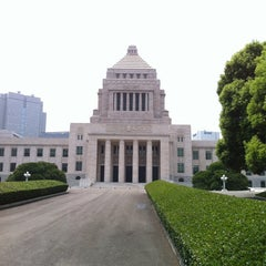 Photo taken at 参議院 by ろちこ on 2/1/2013