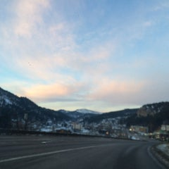 Photo taken at Deadwood, SD by Kathleen O. on 1/7/2016