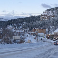 Photo taken at Deadwood, SD by Kathleen O. on 12/16/2015