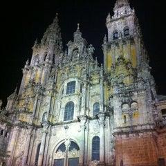 Photo taken at Catedral de Santiago de Compostela by Charlie G. on 10/28/2012
