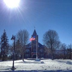 Photo taken at Thompson Hall by Jason B. on 2/17/2014