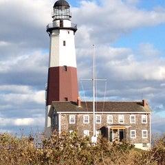 Photo taken at Montauk Point Lighthouse by Terri N. on 10/25/2013