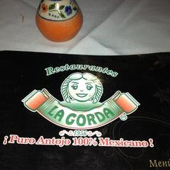 Photo taken at La Gorda by Alejandra R. on 4/2/2013