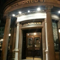 Photo taken at Delmonico's Restaurant Steak House Grill by Keith A. on 12/1/2012