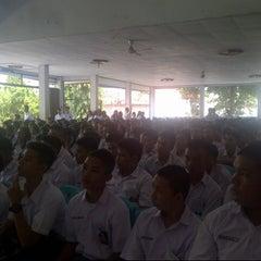 Photo taken at SMA 9 Binsus Manado by Maureen L. on 7/15/2013