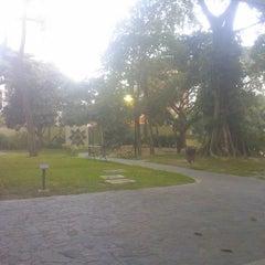 Photo taken at Parque Boyacá by Xavier C. on 1/31/2014