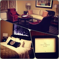 Photo taken at Algonquin Hotel Times Square, Autograph Collection by Abdulla A. on 12/31/2012