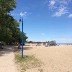 Photo taken at Gimli Public Beach by Roman N. on 8/1/2015