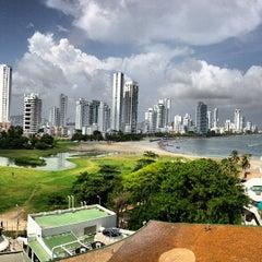 Photo taken at Hilton Cartagena by Nayo C. on 6/30/2013