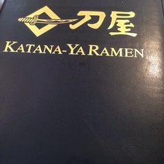 Photo taken at Katana-Ya Ramen by Jonathan A. on 7/28/2014