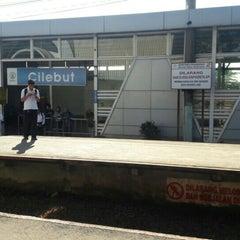 Photo taken at Stasiun Cilebut by Yan Benedict M. on 4/18/2016