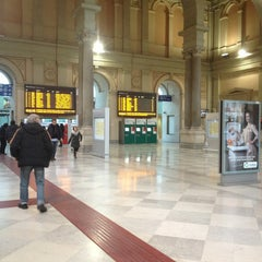 Photo taken at Stazione Trieste Centrale by Serena B. on 12/30/2012