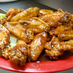Photo taken at Sparks Wings & Ribs by Pj S. on 1/13/2014