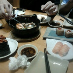 Photo taken at Sushi Tei by Teguh T. on 2/4/2013