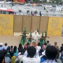 Photo taken at 세종문화회관 (Sejong Center) by Ji young Y. on 5/24/2013