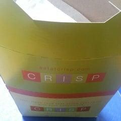 Photo taken at Crisp by Echo G. on 4/1/2013