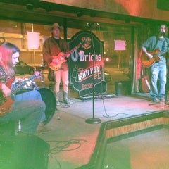 Photo taken at O'Briens Irish Pub by Tommy K. on 1/15/2014