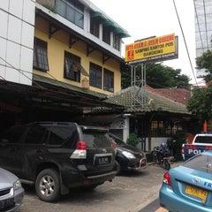 Photo taken at Soto Ayam & Ayam Goreng Bangkong by urphano on 1/30/2014
