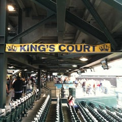 Photo taken at King's Court by Paul G. on 8/28/2013
