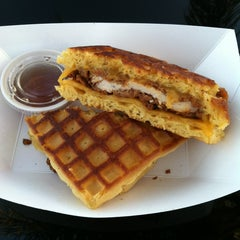 Photo taken at The Grilled Cheese Truck by Paul G. on 3/14/2013