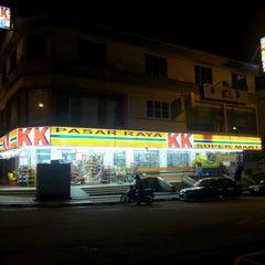 Photo taken at KK Supermart by A E. on 1/23/2013