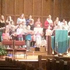Photo taken at Pilgrim Congregational Church by Wendy G. on 11/25/2013