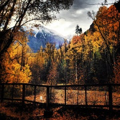 Photo taken at Telluride, CO by Tait S. on 9/25/2012
