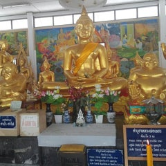 Photo taken at วัดทองใน (Wat Thongnai) by Polly M. on 5/24/2014