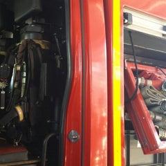 Photo taken at Caserne pompiers BSPP by SuperBreton on 6/21/2014