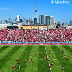 Photo taken at BMO Field by Albert C. on 4/29/2013