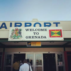 Photo taken at Maurice Bishop International Airport by Sascha B. on 9/8/2012
