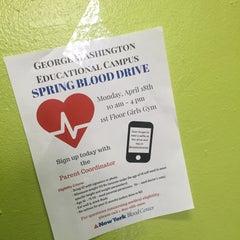 Das Foto wurde bei George Washington High School von Fred A. am 4/11/2016 aufgenommen