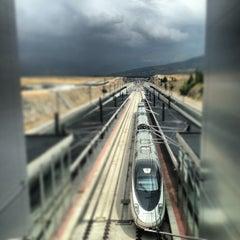 Photo taken at Estación de Segovia-Guiomar by Andy T. on 7/21/2013