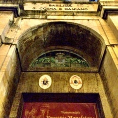 Photo taken at Basilica S.Cosma e Damiano by Kosmas T. on 1/2/2014