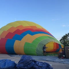 Photo taken at Magical Adventure Balloon Rides by Yi N. on 7/5/2014