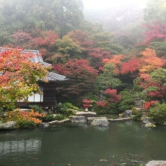 Photo taken at 釈迦山 百済寺 by tar_si on 11/9/2014