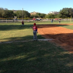 Photo taken at Cedar Park Youth League by Bobby S. on 4/20/2013