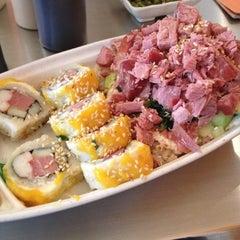 Photo taken at Sushi Hokō-Ki by Mikamii on 10/25/2012