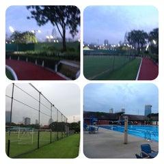 Photo taken at Swimming Pool by Bangkok Doggy H. on 11/13/2012