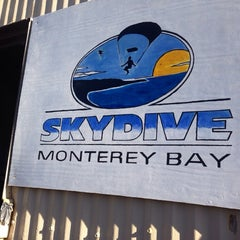 Photo taken at Skydive Monterey Bay by Cody Z. on 12/9/2013