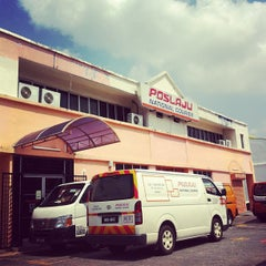 Photo taken at POSLAJU National Courier, Taman Perindustrian Selaman, Bangi by mohd efry a. on 4/16/2013